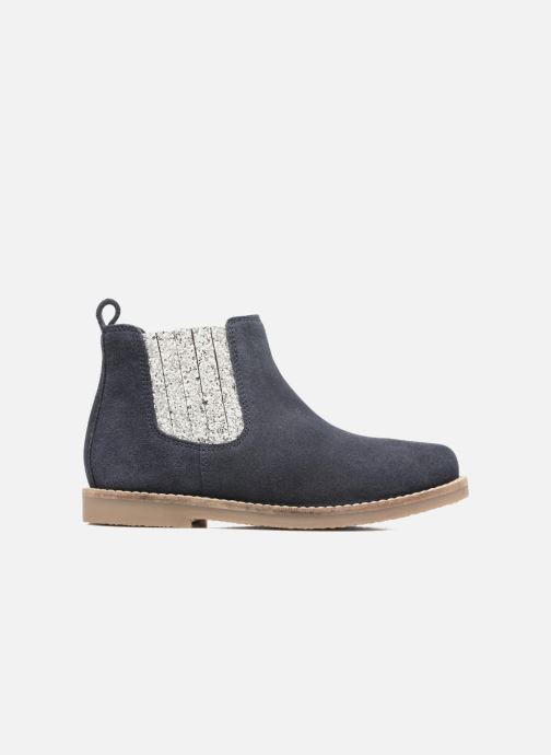 Botines  I Love Shoes STEFFI LEATHER Azul vistra trasera