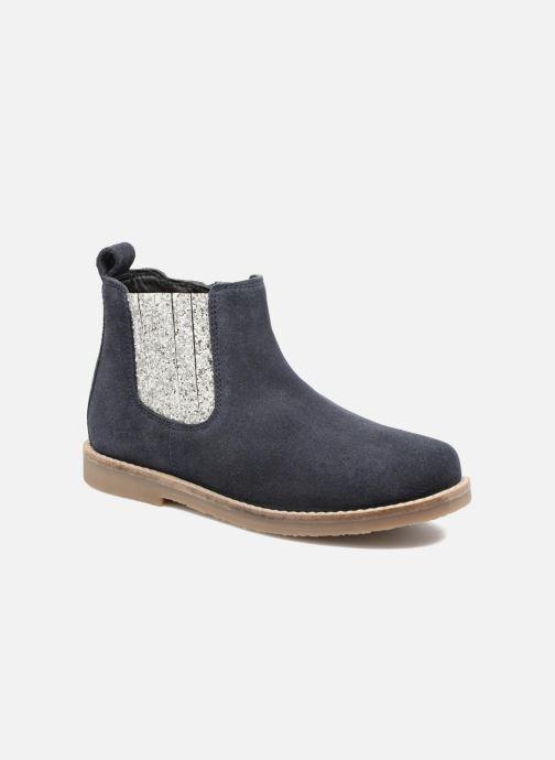 Botines  I Love Shoes STEFFI LEATHER Azul vista de detalle / par