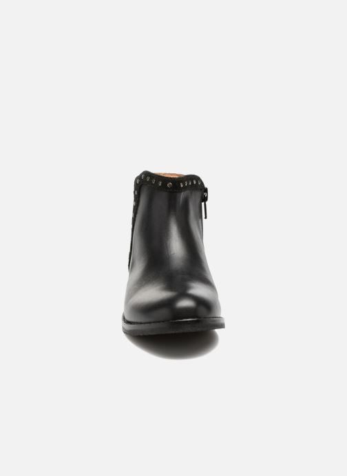 Ankle boots I Love Shoes SYBILLE LEATHER Black model view