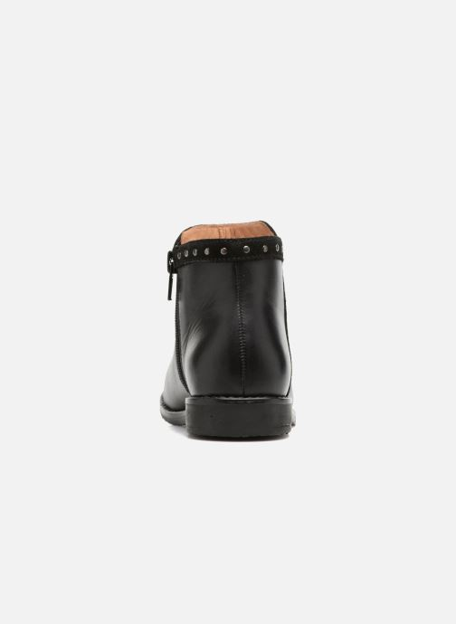 Ankle boots I Love Shoes SYBILLE LEATHER Black view from the right