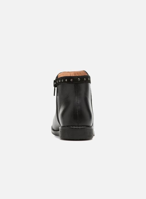 Boots en enkellaarsjes I Love Shoes SYBILLE LEATHER Zwart rechts