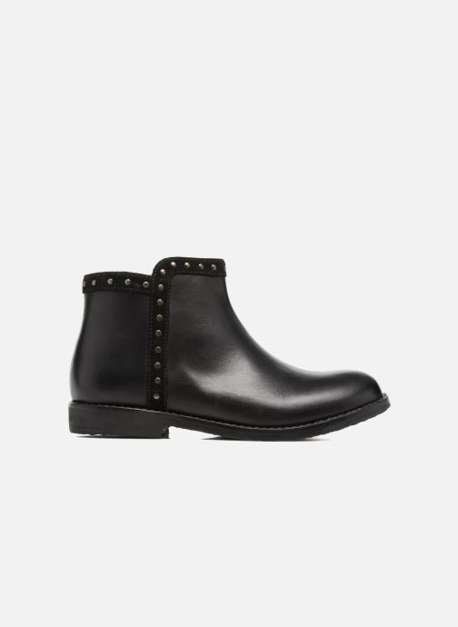 Ankle boots I Love Shoes SYBILLE LEATHER Black back view