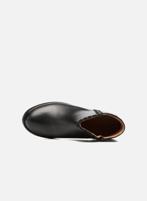 Bottines et boots I Love Shoes SYBILLE LEATHER Noir vue gauche