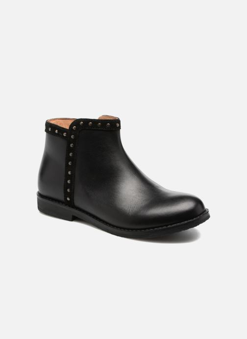 Ankle boots I Love Shoes SYBILLE LEATHER Black detailed view/ Pair view