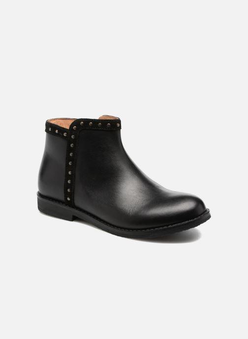 Boots en enkellaarsjes I Love Shoes SYBILLE LEATHER Zwart detail