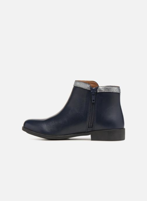 Ankle boots I Love Shoes SYBILLE LEATHER Blue front view