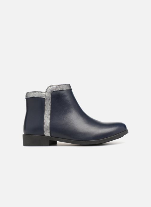 Ankle boots I Love Shoes SYBILLE LEATHER Blue back view