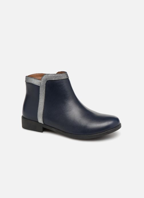 Ankle boots I Love Shoes SYBILLE LEATHER Blue detailed view/ Pair view