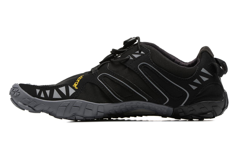 Chaussures de sport Vibram FiveFingers V-Trail Noir vue face