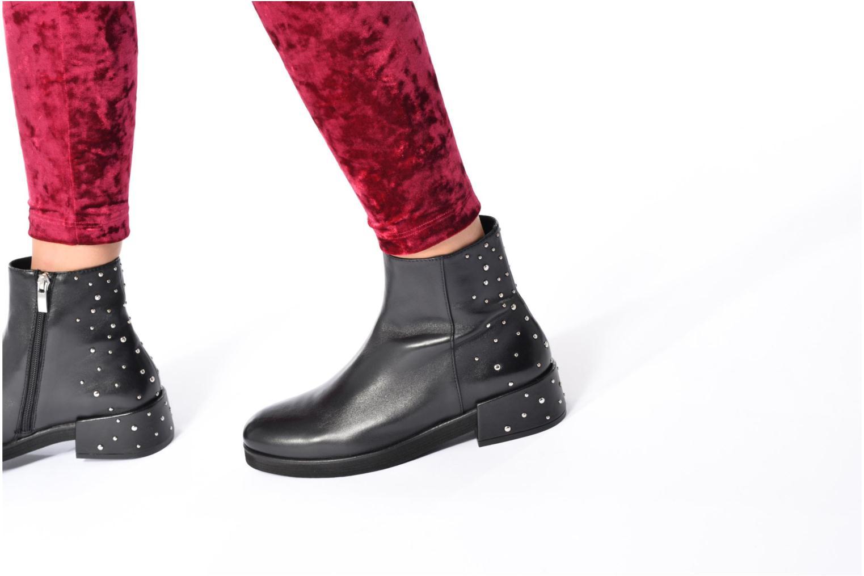 Bottines et boots Bruno Premi Aka Noir vue bas / vue portée sac