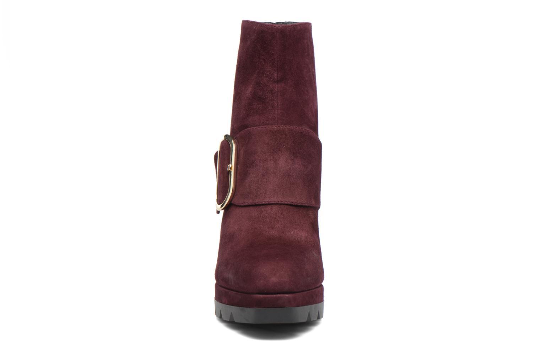 Bottines et boots Bruno Premi Athena Bordeaux vue portées chaussures