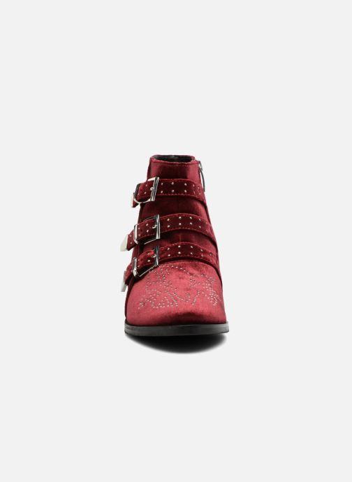Bottines et boots Bruno Premi Bonnie Bordeaux vue portées chaussures