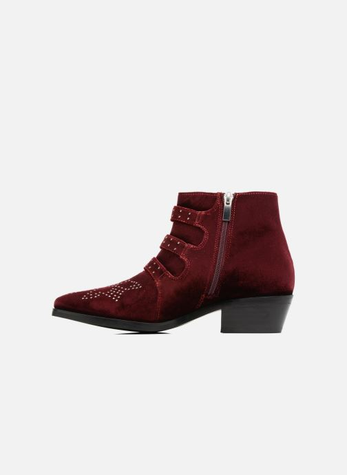 Bottines et boots Bruno Premi Bonnie Bordeaux vue face