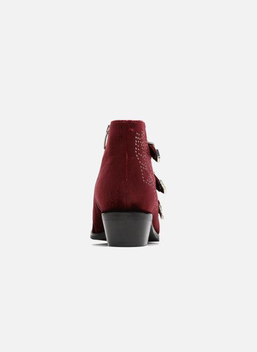 Bottines et boots Bruno Premi Bonnie Bordeaux vue droite