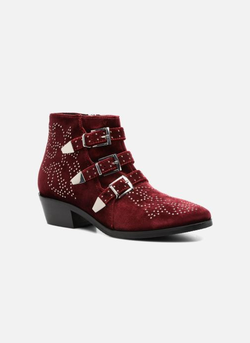 Bottines et boots Bruno Premi Bonnie Bordeaux vue détail/paire