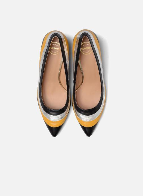 Escarpins Made by SARENZA Snow Disco #3 Jaune vue portées chaussures