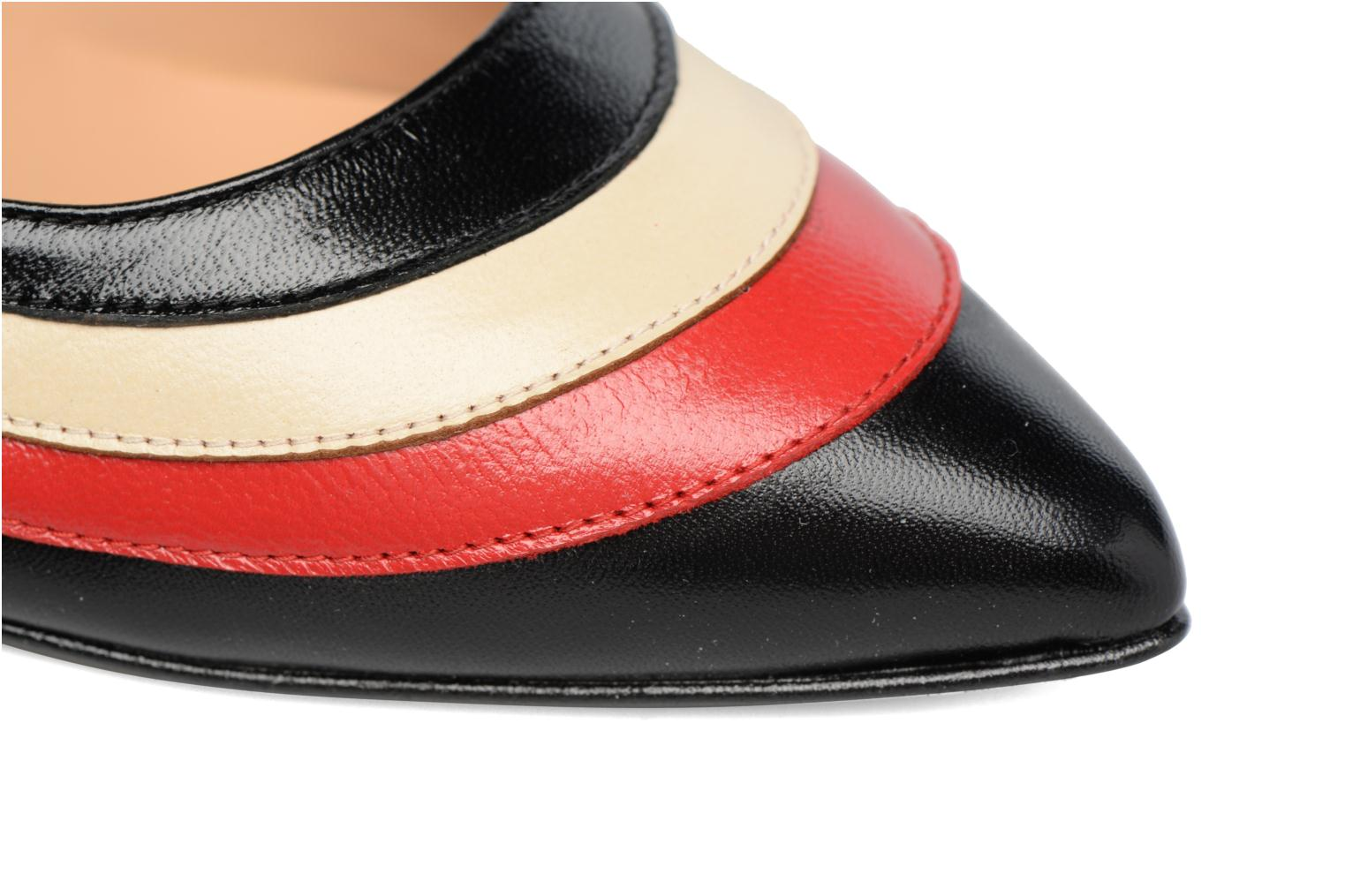 Snow Cuir Sarenza Lisse By 4 Noir Made Rouge Disco pqaUwRE
