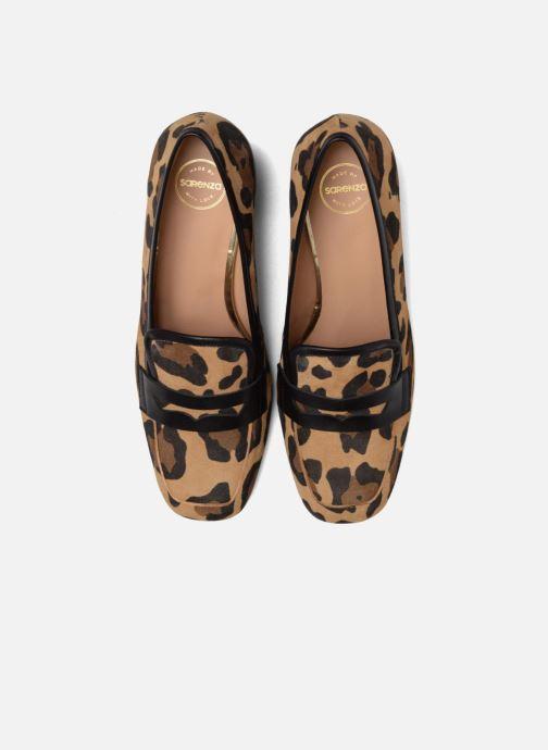 Mocassins Made by SARENZA Crazy Seventy #1 Marron vue portées chaussures