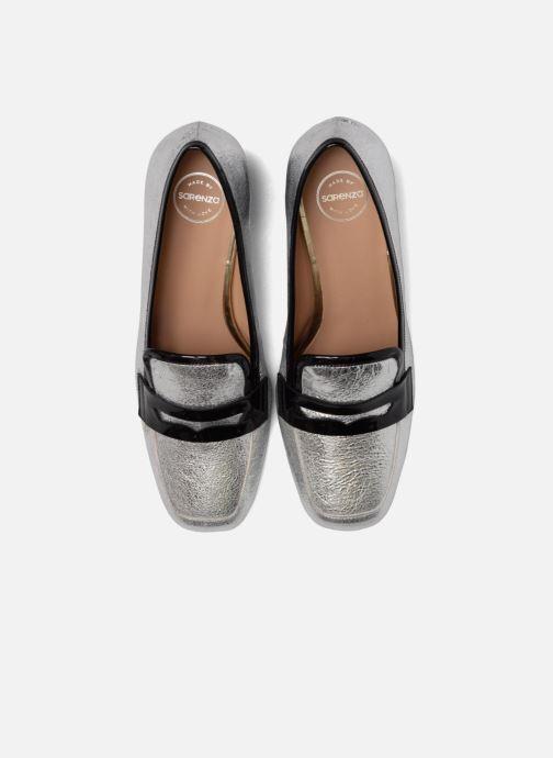 Mocassins Made by SARENZA Crazy Seventy #1 Argent vue portées chaussures