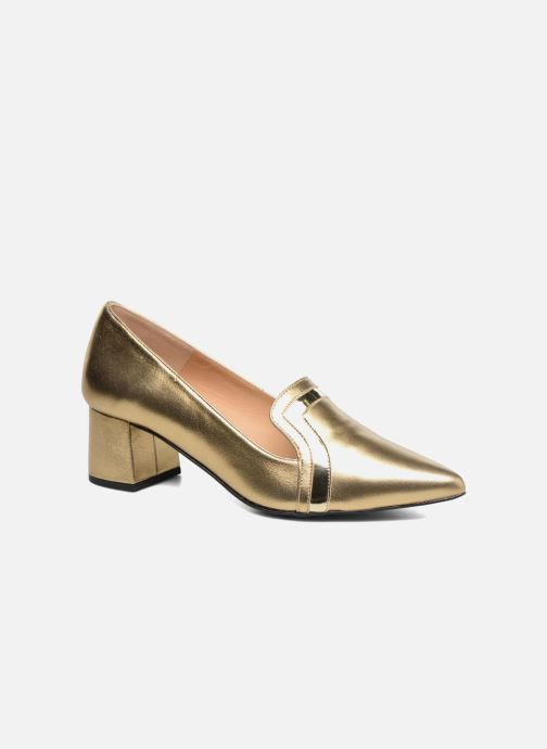 Escarpins Made by SARENZA Shoe Officer #1 Or et bronze vue droite