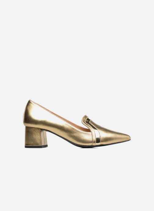 Escarpins Made by SARENZA Shoe Officer #1 Or et bronze vue détail/paire