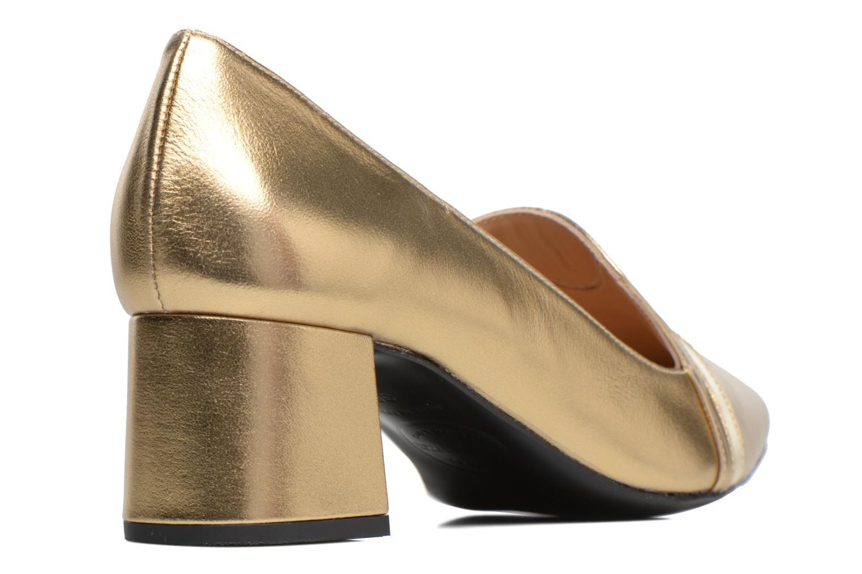 Escarpins Made by SARENZA Shoe Officer #1 Or et bronze vue face
