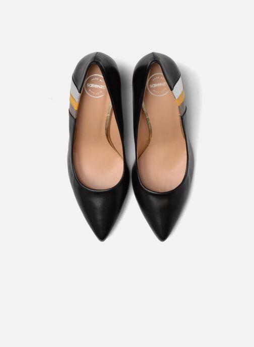 High heels Made by SARENZA Snow Disco #5 Black model view