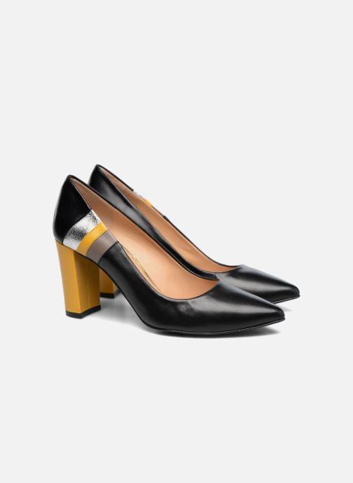 High heels Made by SARENZA Snow Disco #5 Black back view