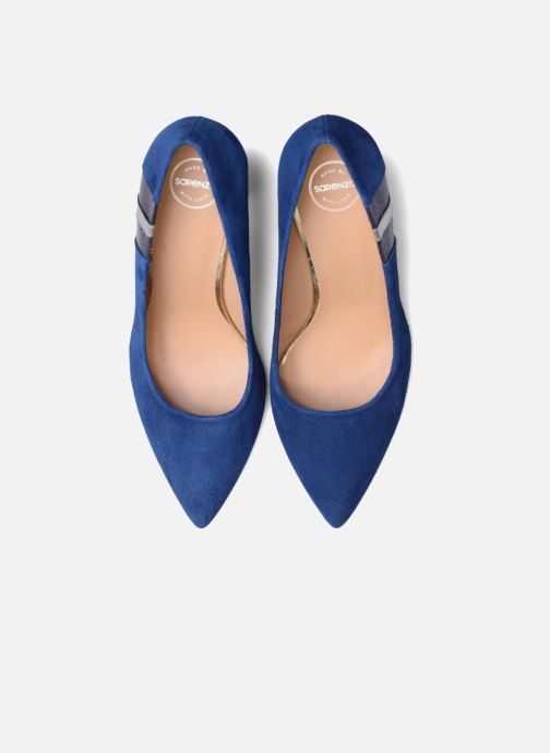High heels Made by SARENZA Snow Disco #5 Blue model view