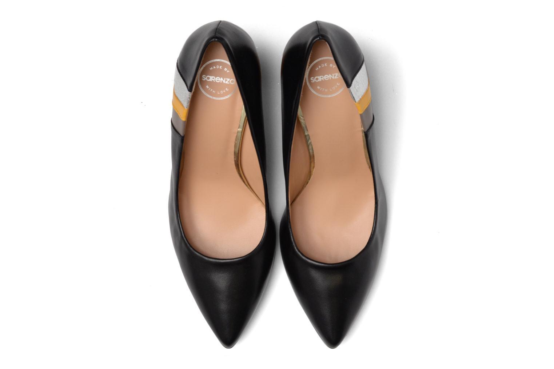 Zapatos de tacón Made by SARENZA Snow Disco #5 Negro vista del modelo