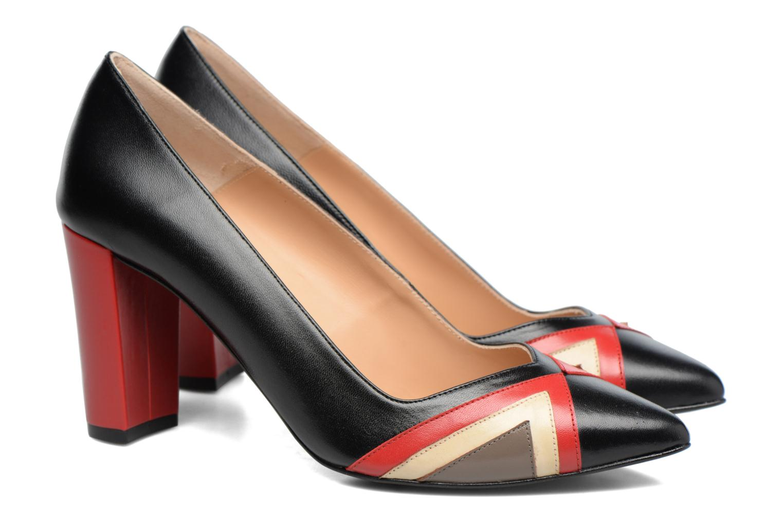 High heels Made by SARENZA Snow Disco #6 Black back view