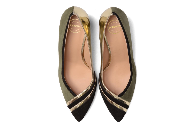 High heels Made by SARENZA Shoe Officer #6 Green model view