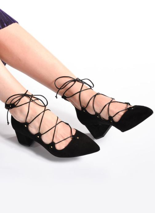 Zapatos de tacón Made by SARENZA Shoe Officer #8 Negro vista de abajo