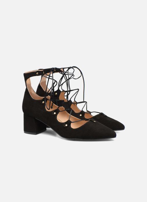 Zapatos de tacón Made by SARENZA Shoe Officer #8 Negro vistra trasera