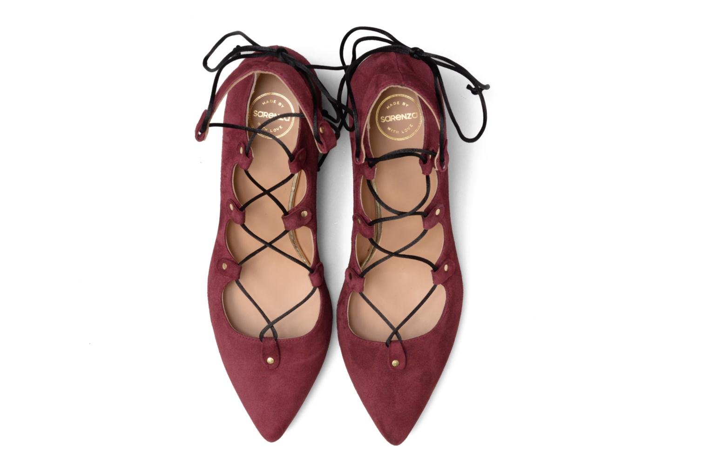 Escarpins Made by SARENZA Shoe Officer #8 Bordeaux vue portées chaussures
