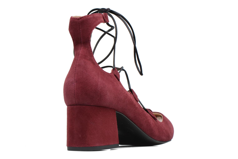 Escarpins Made by SARENZA Shoe Officer #8 Bordeaux vue face