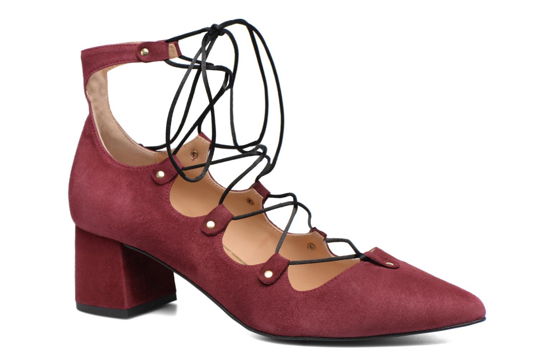 Escarpins Made by SARENZA Shoe Officer #8 Bordeaux vue droite