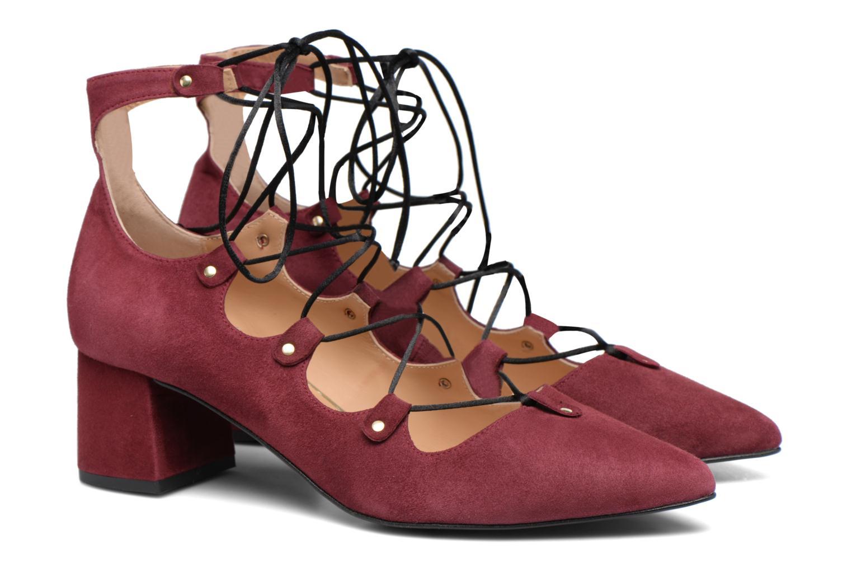 Escarpins Made by SARENZA Shoe Officer #8 Bordeaux vue derrière