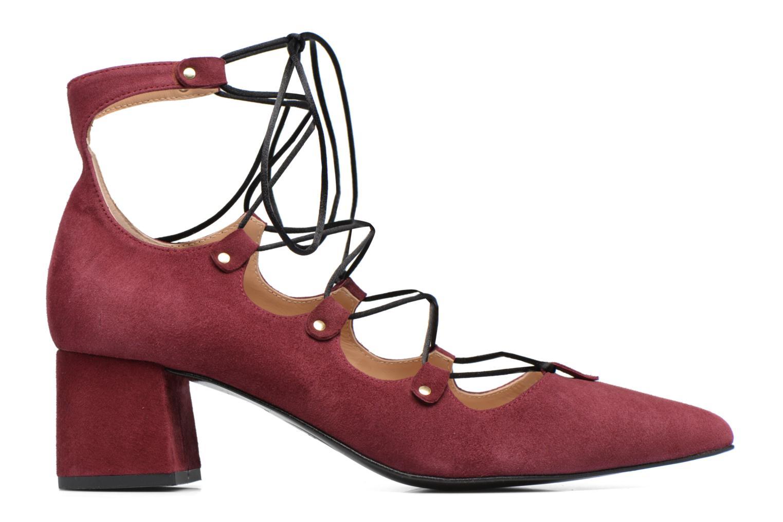 Escarpins Made by SARENZA Shoe Officer #8 Bordeaux vue détail/paire