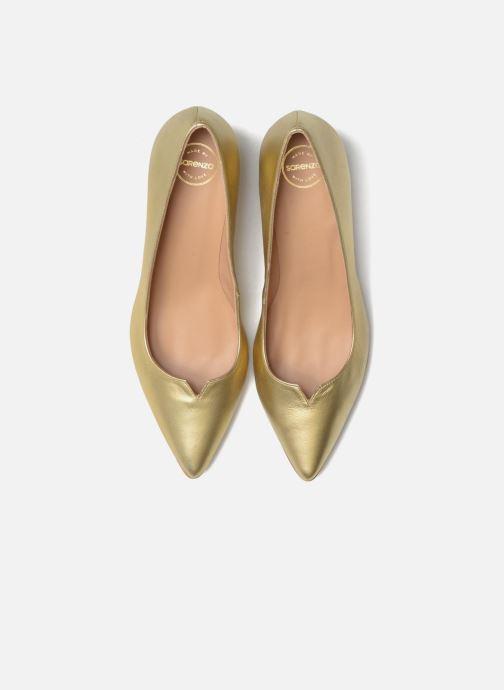 Pumps Made by SARENZA 90's Girls Gang Escarpins #11 gold/bronze schuhe getragen