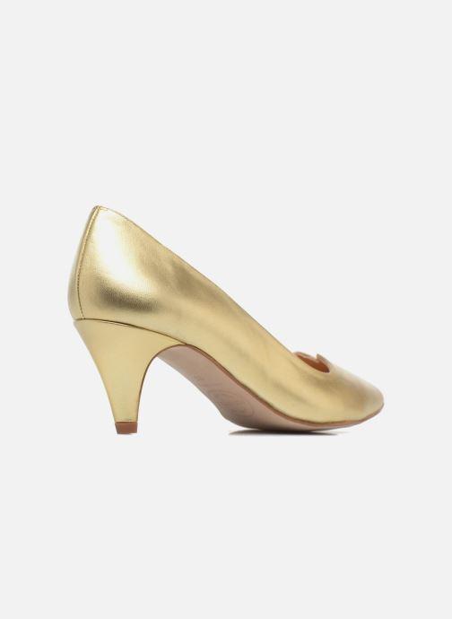 Zapatos de tacón Made by SARENZA 90's Girls Gang Escarpins #11 Oro y bronce vista de frente