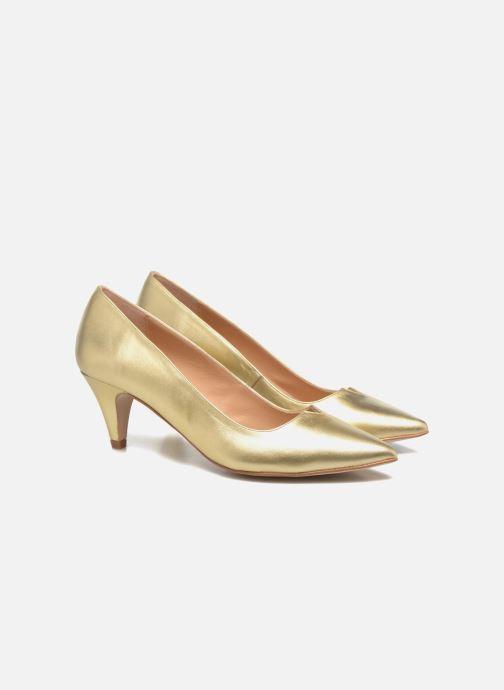 Zapatos de tacón Made by SARENZA 90's Girls Gang Escarpins #11 Oro y bronce vistra trasera