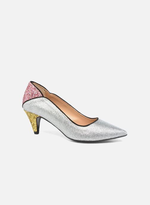 Zapatos de tacón Made by SARENZA Crazy Seventy #4 Plateado vista lateral derecha