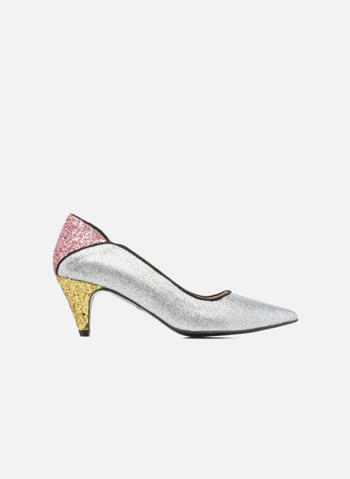 Zapatos de tacón Made by SARENZA Crazy Seventy #4 Plateado vista de detalle / par