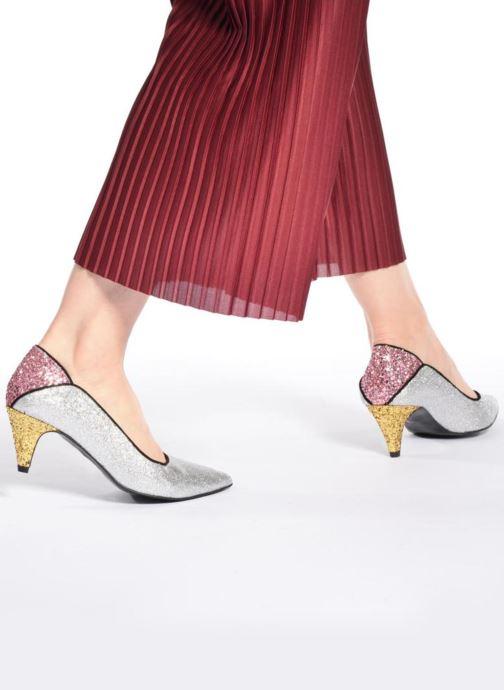 Zapatos de tacón Made by SARENZA Crazy Seventy #4 Negro vista de abajo