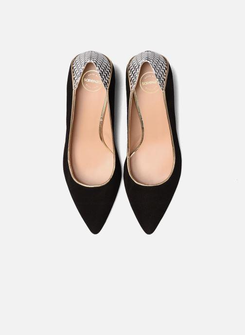 Zapatos de tacón Made by SARENZA Crazy Seventy #4 Negro vista del modelo