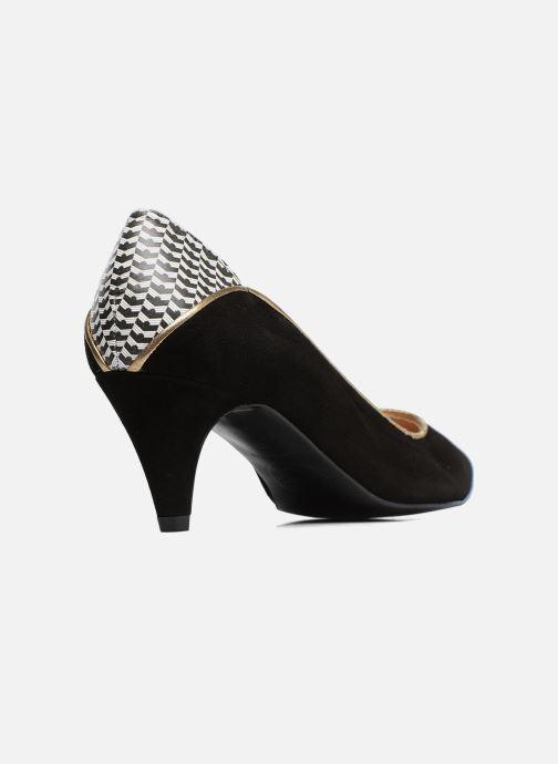 Zapatos de tacón Made by SARENZA Crazy Seventy #4 Negro vista de frente