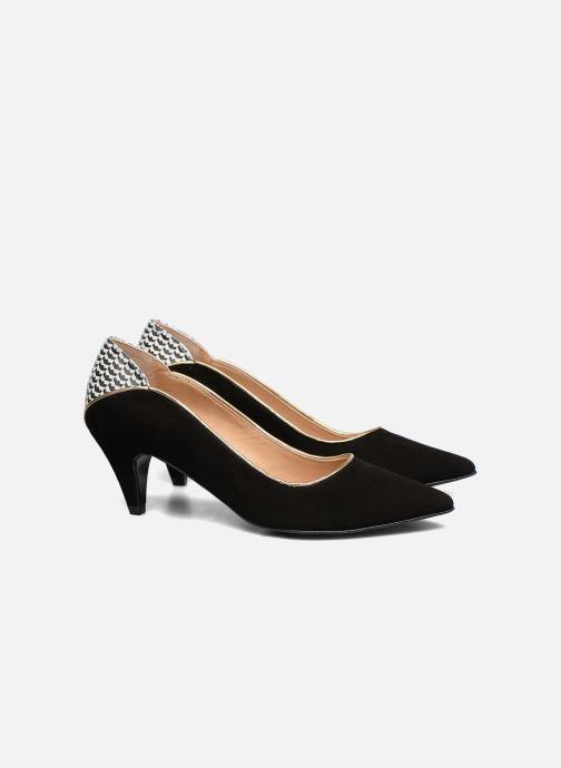 Zapatos de tacón Made by SARENZA Crazy Seventy #4 Negro vistra trasera