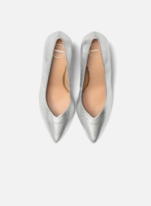 Escarpins Made by SARENZA Crazy Seventy #5 Argent vue portées chaussures