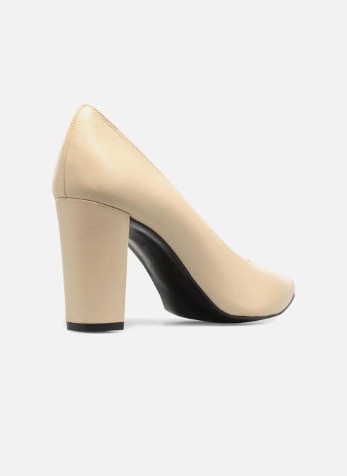Zapatos de tacón Made by SARENZA Crazy Seventy #5 Beige vista de frente